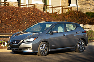 2021 Nissan Leaf SV/SL (62 kW-hr battery pack)