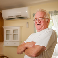 Ductless Heating and Cooling System - Save 25-50% on Heating Costs* logo