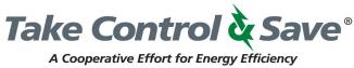 $1,000 Lewis County REC Electric Vehicle Rebate logo