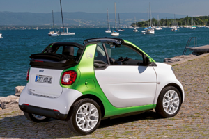 2017 smart fortwo electric drive convertible