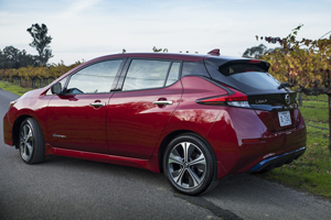 2019 Nissan Leaf SV/SL (62 kW-hr battery pack)