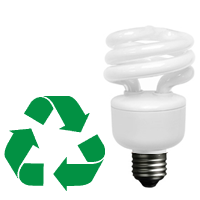 Time to Recycle your Fluorescent Light Bulbs? logo