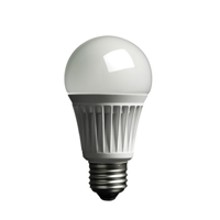 Switch your bulbs to LED and you can use over 75% less electricity!* logo