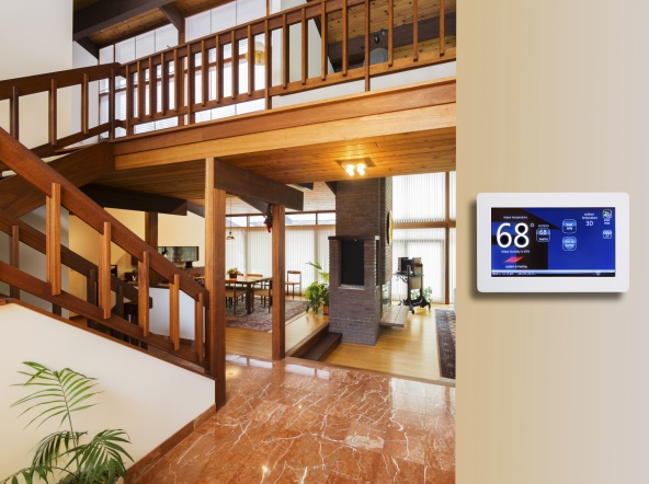 Connected Thermostats for Commercial Buildings logo